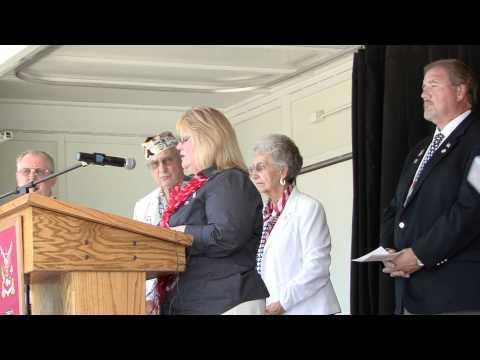 Memorial Day at Oakview Memorial Park, Antioch, California 2012 21 Gun Salute & Taps