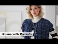 Ruana with Pockets made with Wool-Ease® Thick & Quick® and Heartland®