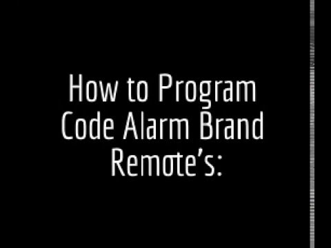 hqdefault?sqp= oaymwEWCKgBEF5IWvKriqkDCQgBFQAAiEIYAQ==&rs=AOn4CLDRQs4x4YWb37D1jpEjL4zbSCbhBA how to program code alarm and chapman alarm keyless remote Code Alarm Installation at eliteediting.co