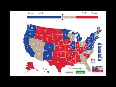 October US Election Map Predictions And Why Polls Are So - Us electoral map prediction