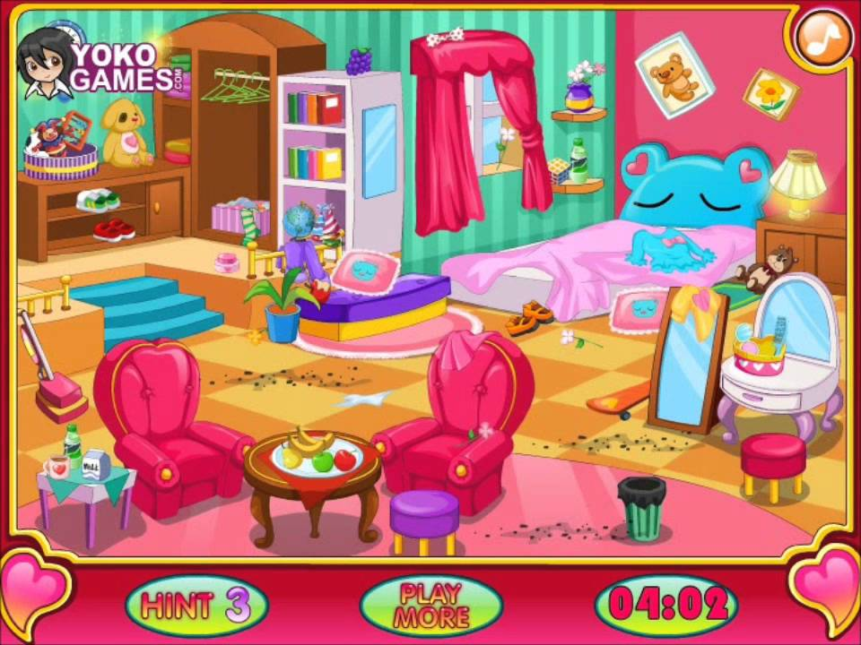 Clean My Room Video For Kids Cleaning Game Girls Games