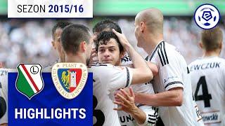Legia Warszawa - Piast Gliwice 4:0 [skrót] sezon 2015/16 kolejka 35