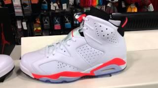 ShoeZeum Infrared Nike Air Jordan 6s at