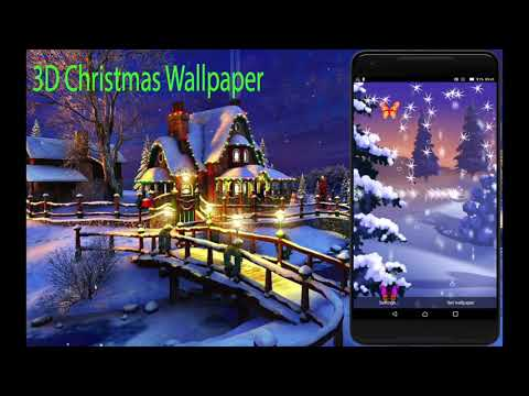 22 Free Christmas Live Wallpapers With Hd 3d Or Music