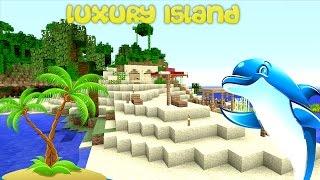 Minecraft XBOX - Luxury Island (10) Chest room Plan!