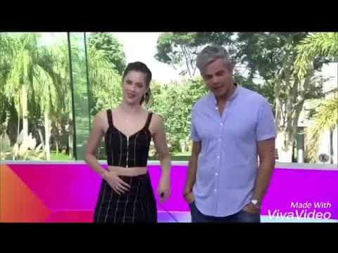Gabriel Diniz no vídeo show com Guilherme Leican