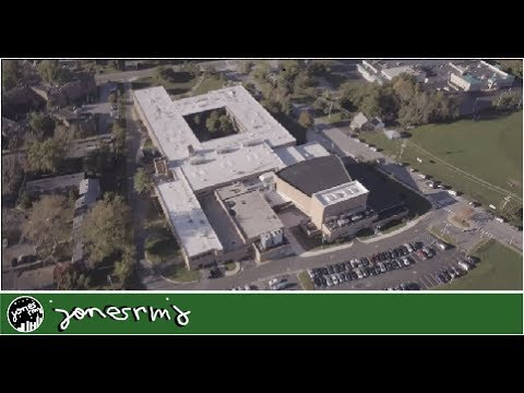 Charter School of Wilmington by Drone