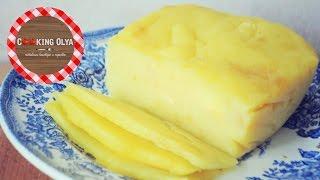 Твердый сыр своими руками | Быстрый и простой рецепт от CookingOlya