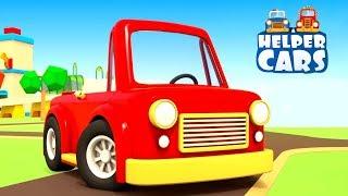 Helfer Autos auf Deutsch - Die neue Strecke - Zeichentrickfilm für Kinder