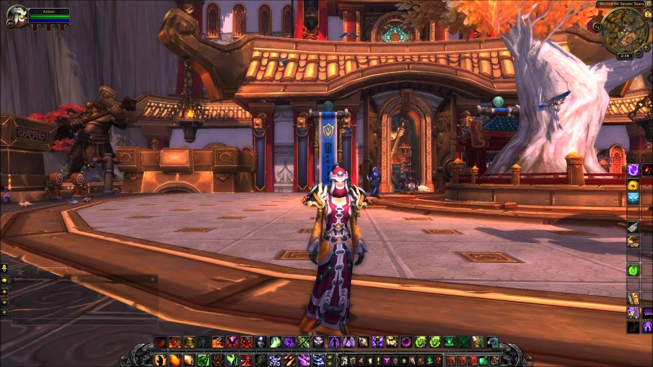 World Of Warcraft Mists Of Pandaria New Alliance And Horde Capital - Capital cities of the world game