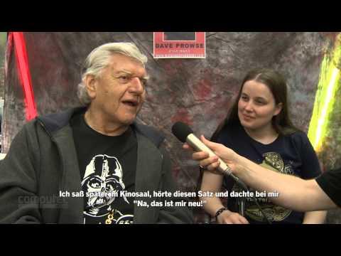 RPC: Schrille Cosplayer und Darth Vader-Darsteller Dave Prowse im Video-Interview - Playtime Show 51