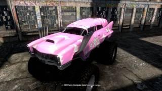 MotorStorm Apocalypse: All Vehicles Unlocked (including few DLC's)