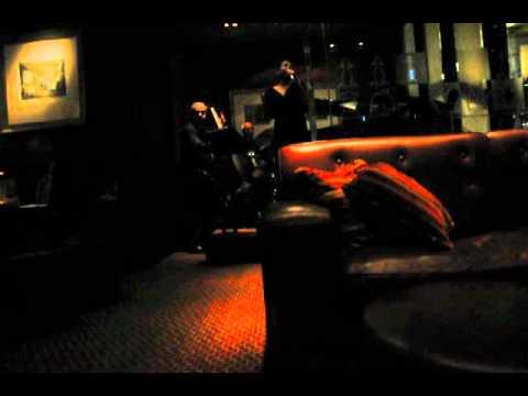 Jazz night in the bar of Mandarin Oriental Hotel Hong Kong