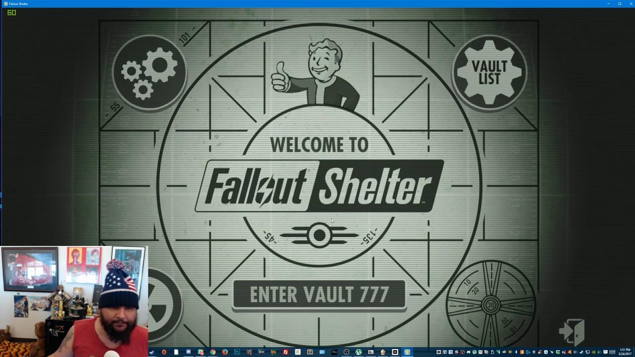 How to <b>Cheat</b> in <b>Fallout Shelter</b> (<b>PC</b>) 2019 - YouTube