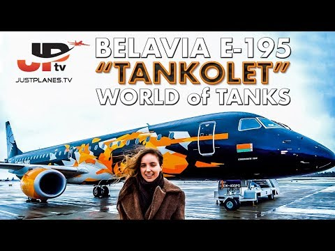Fly BELAVIA to London - WARGAMING's World of Tanks Plane (by JPTV)
