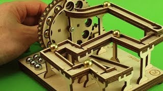 Hand Cranked KIT - Modular Marble Machine - Shield no.1
