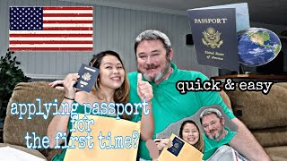 How to Apply UŠ Passport After Naturalization   Applying for the First Time  Pandemic Version 🇺🇸