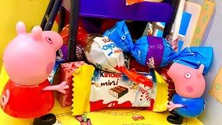 Świnka Peppa i Niespodzianka  Przepyszne Słodycze  Bajka dla dzieci PO POLSKU