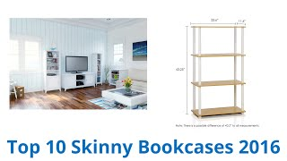 10 Best Skinny Bookcases 2016