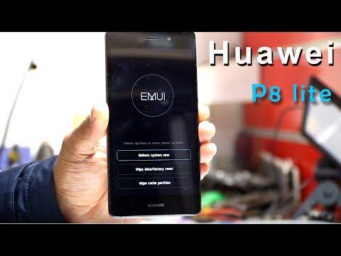 Huawei P8 Lite Hard Reset (wipe Data Factory Reset)