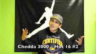 Chedda 3000 - HOT 16 #2 (Over Young Money Pass the Dutch Instrumental)