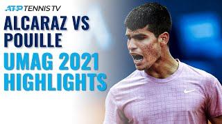 Carlos Alcaraz vs Lucas Pouille | Umag 2021 Highlights