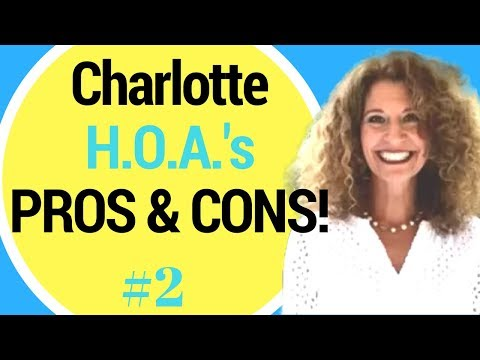 HOA's - Pros & Cons of Moving to Charlotte! You NEED to Watch This!