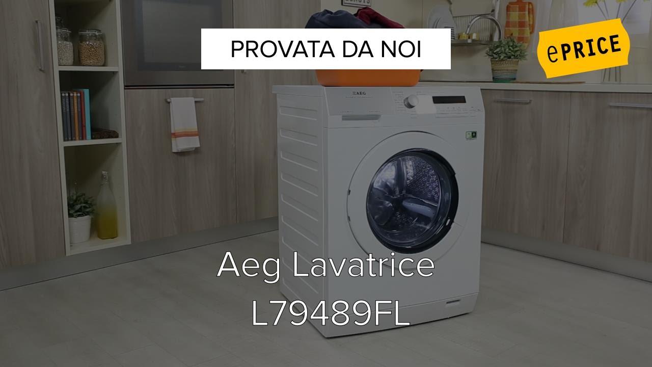 Video Recensione Lavatrice Aeg L79489FL - YouTube