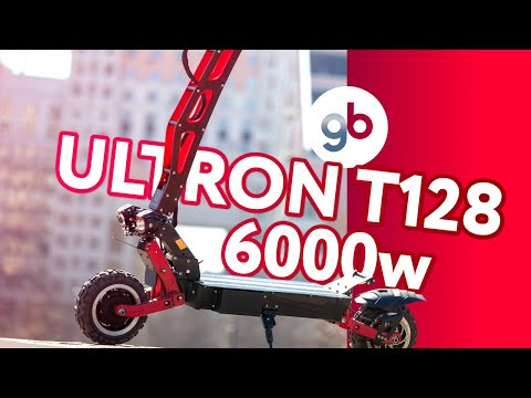 ULTRON T 128 6000w - Король дороги и бездорожья. Это самый МОЩНЫЙ и самый ПРОХОДИМЫЙ самокат в 2020г