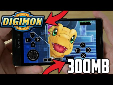 [300MB] Digimon Unreleased PPSSPP Android Game