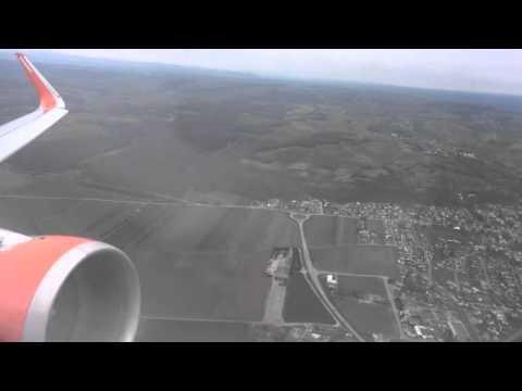 EasyJet Flug EZY4638 Basel nach Berlin-Schönefeld Airbus A320  Push Back Start Landung 03.04.15