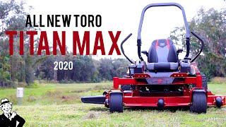 TORO Titan Max 2020 - Commercial Mower for Residential Price