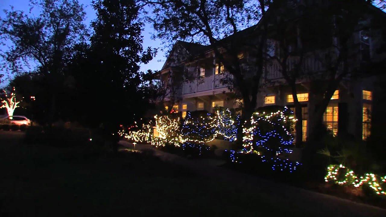 Amelia island christmas tree lighting at amelia island plantation - Seasons Greeting From Amelia Park Garden District Amelia Island Florida