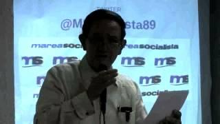 26 Seminario Nacional de Marea Socialista, Gustavo Márquez, aporrea tvi, noviembre 2014