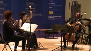"CHEN Yi ""Ning"" for violin, cello and pipa - Live performance in Beijing"