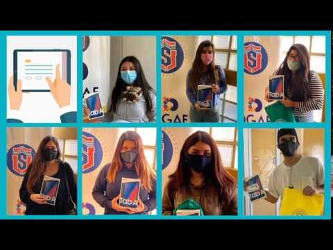 #ApoyoEstudiantil: ULS entrega tablets y chips a estudiantes