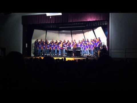 Goodnight Middle School Women's Choir Fall Concert