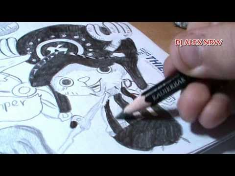 Drawing to one piece manga 663 youtube for Lucky 13 tattoo piercing prices