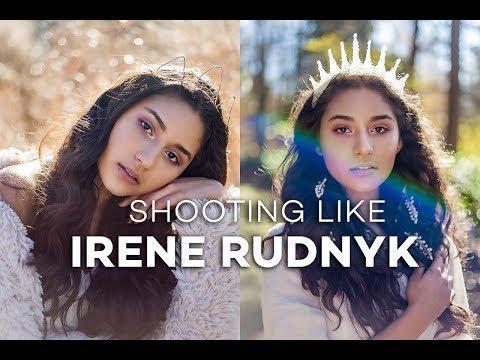 BEHIND THE PHOTOSHOOT | SHOOTING LIKE IRENE RUDNYK (TEASER)