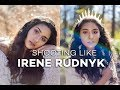 BEHIND THE PHOTOSHOOT | SHOOTING LIKE IRENE RUDNYK (TEASER)