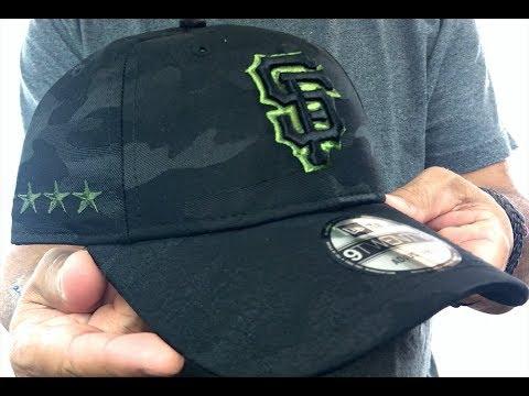 super popular f5532 d62c1 SF Giants 2018 MEMORIAL DAY  STARS N STRIPES STRAPBACK  Hat by New Era