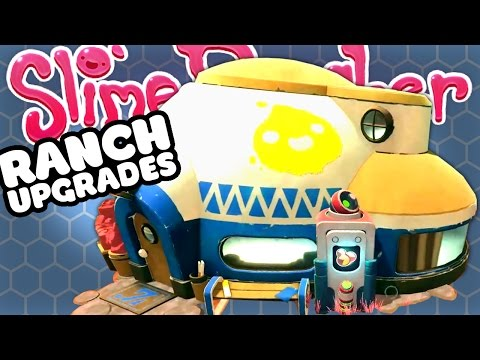CUSTOMISE YOUR RANCH & SLIME TOYS - Slime Rancher Update Gameplay
