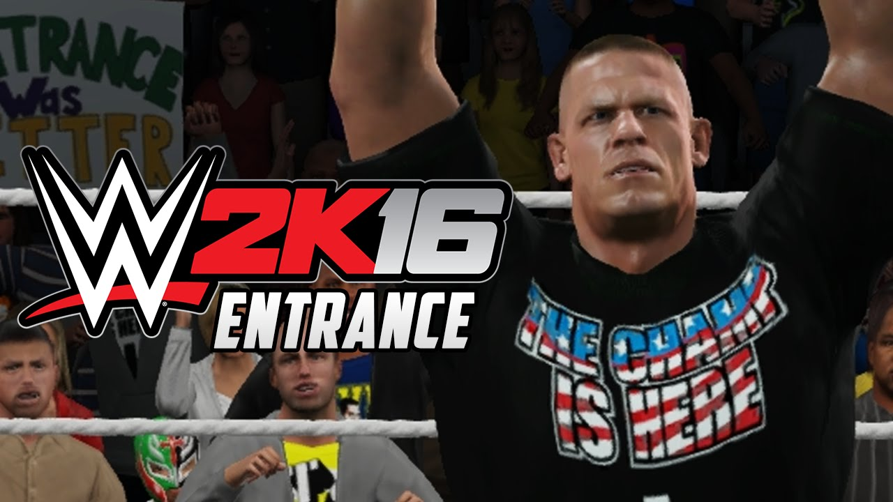 wwe 2k16 deutsch john cena entrance wwe 2k16 news german youtube. Black Bedroom Furniture Sets. Home Design Ideas