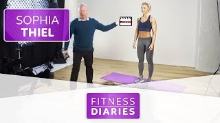Der Dreh zu Sophias Online-Workouts | Sophia Thiel | Folge 16 | Fitness Diaries