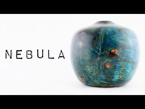 #46 Man-Made 'Nebula' Woodturning
