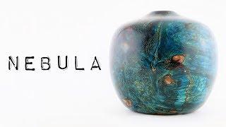 #46 Man-Made 'Nebula' Woodturning