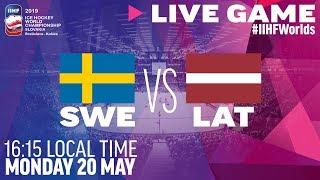 Sweden vs. Latvia | Full Game | 2019 IIHF Ice Hockey World Championship