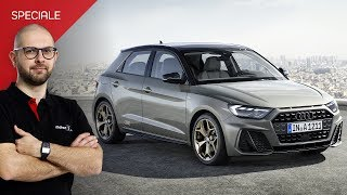 """Nuova Audi A1 Sportback, piccola con la faccia da """"Quattro"""""""