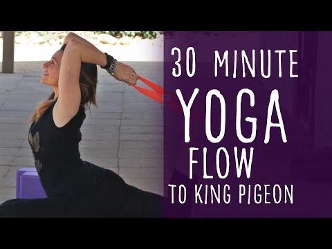 Vinyasa Flow Yoga for Hips (to King Pigeon)