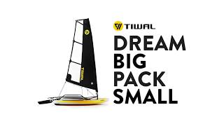 TIWAL 3 - Inflatable Sailboat  - What is this amazing dinghy?